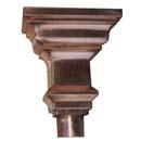 Baroque Copper Leader Head