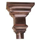 Baroque Copper Leader Head