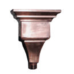 Leonardo copper Leader Head sm
