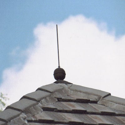 Ball and Rod Finial