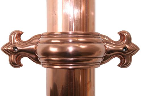 Copper Donspout Bracket