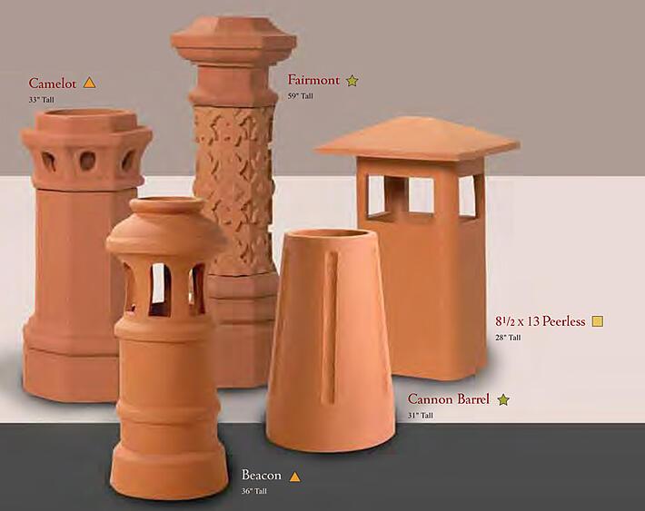 Clay Chimney Pots