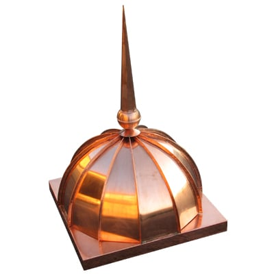 copper dome roof cupola