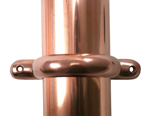 copper,downspout,bracket,modern