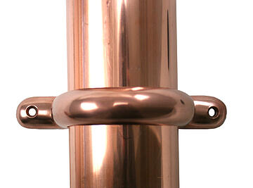 copper,downspout,bracket,modern