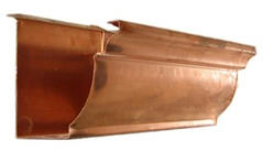 Eclipse Copper Gutter