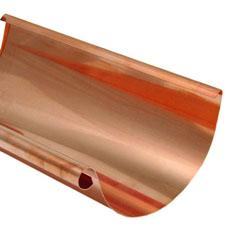Half Round Copper Gutter