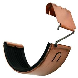 copper gutter connector