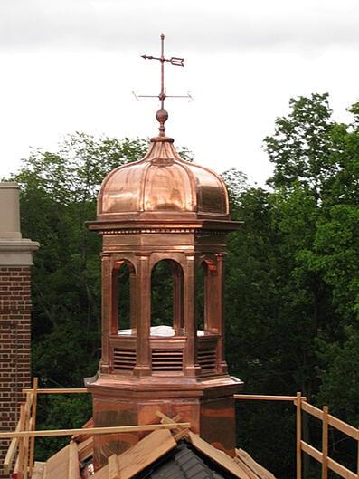 reproductioncopper cupolas