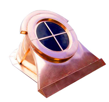 copper window dormer