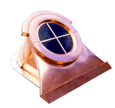 copper window dormer, marque style