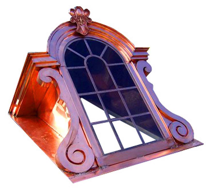 Copper Window Dormer