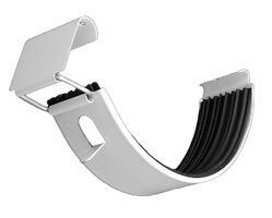 half round galvanized gutter connector