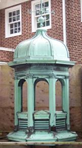 Historical reproduction copper cupolas
