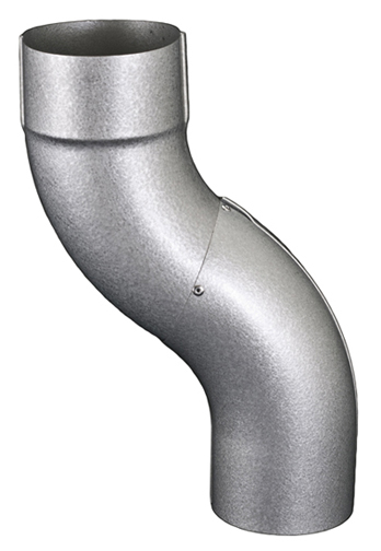 Galvalume Downspout offset