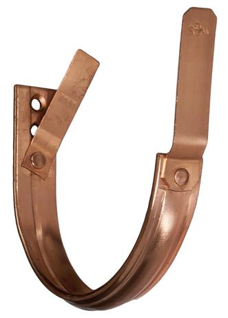 half round copper gutter hanger
