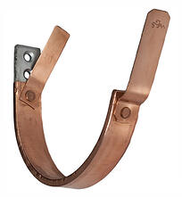 Copper Wraped Gutter Hanger