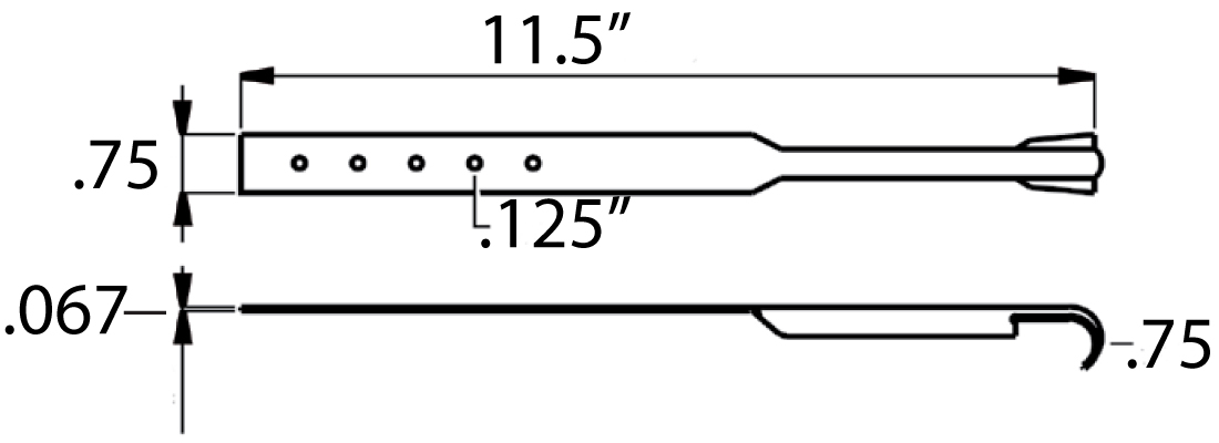 SUPPORT STRAP DWG