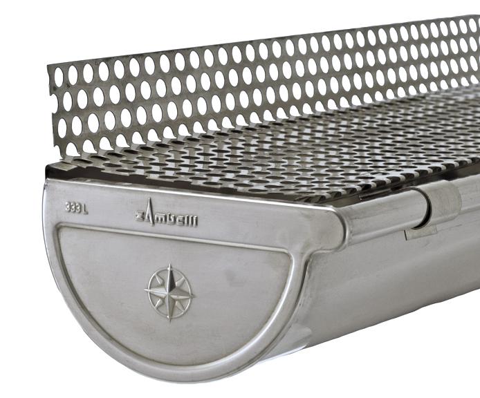 Aluminum Leaf Guard