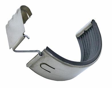 half round Zinc gutter connector