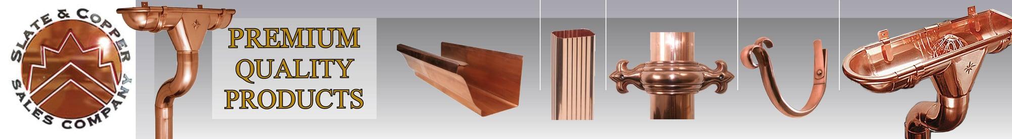 Copper Gutter Photo Gallery